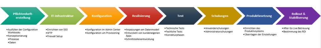 Vorgehensweise Einführung SuccessFactors